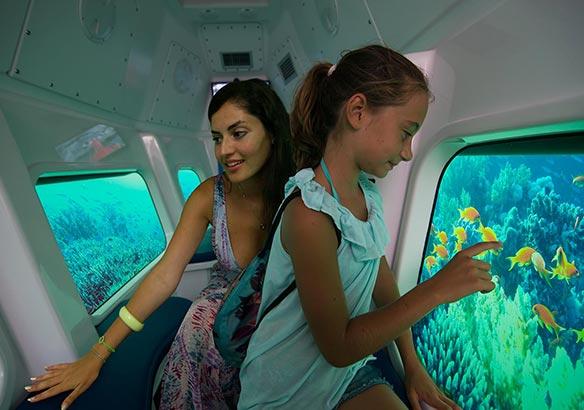 Giro in sottomarino Italia